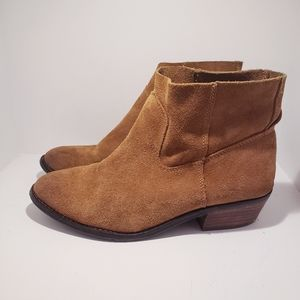 DV By Dolce Vita Suede Ankle Booties Cassidy